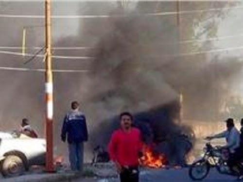 Ledakan (InfoPalestina.com)