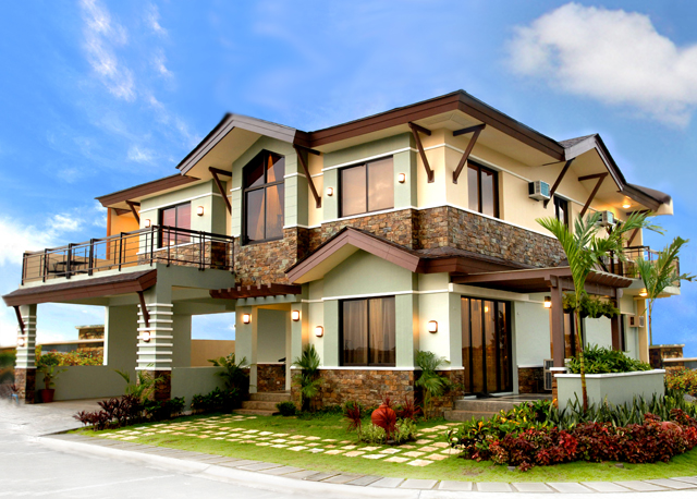 Dmci 39 s best dream house in the philippines house design Home design dream house