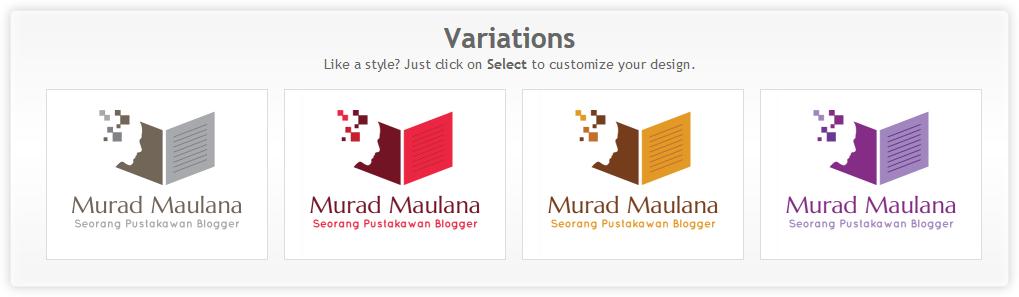 Memilih warna yang berbeda -DesignMantic