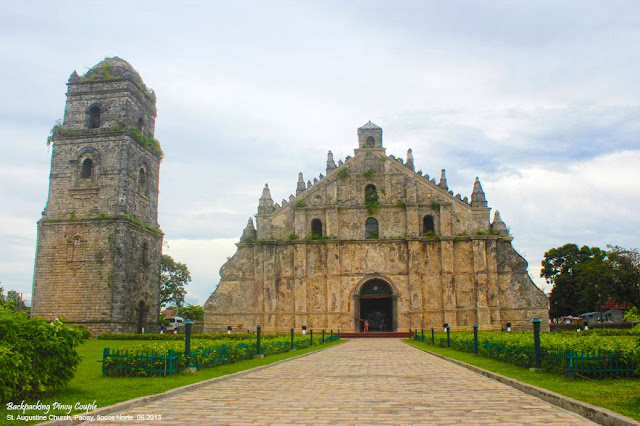 Paoay Church, St. Augustine Church of Paoay, How to go to Paoay Ilocos Norte, Paoay, Backpacking Pinoy Couple, Pinoy travelers, Pinoy traveller, pinoy backpackers, philippine tour, traveling in the Philippines, backpacking in the Philippines, how to go to ilocos norte, what to see in ilocos norte,
