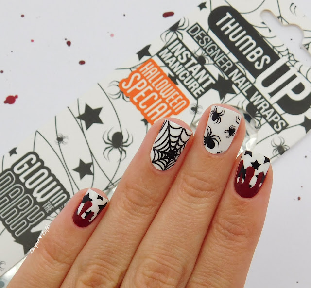 Thumbs Up Halloween Special Nail Wraps - Midnight Party