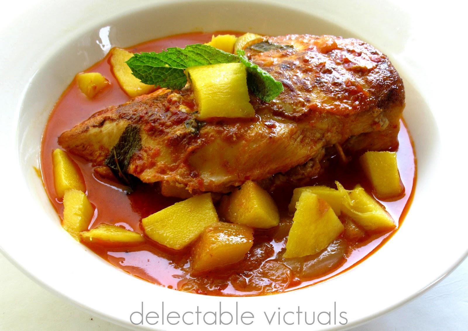 chicken pepper mango sauce turkish