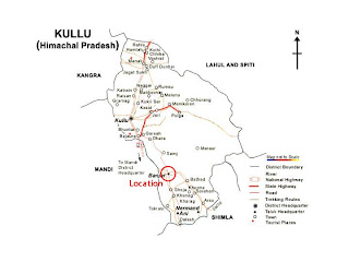 Map of Manali