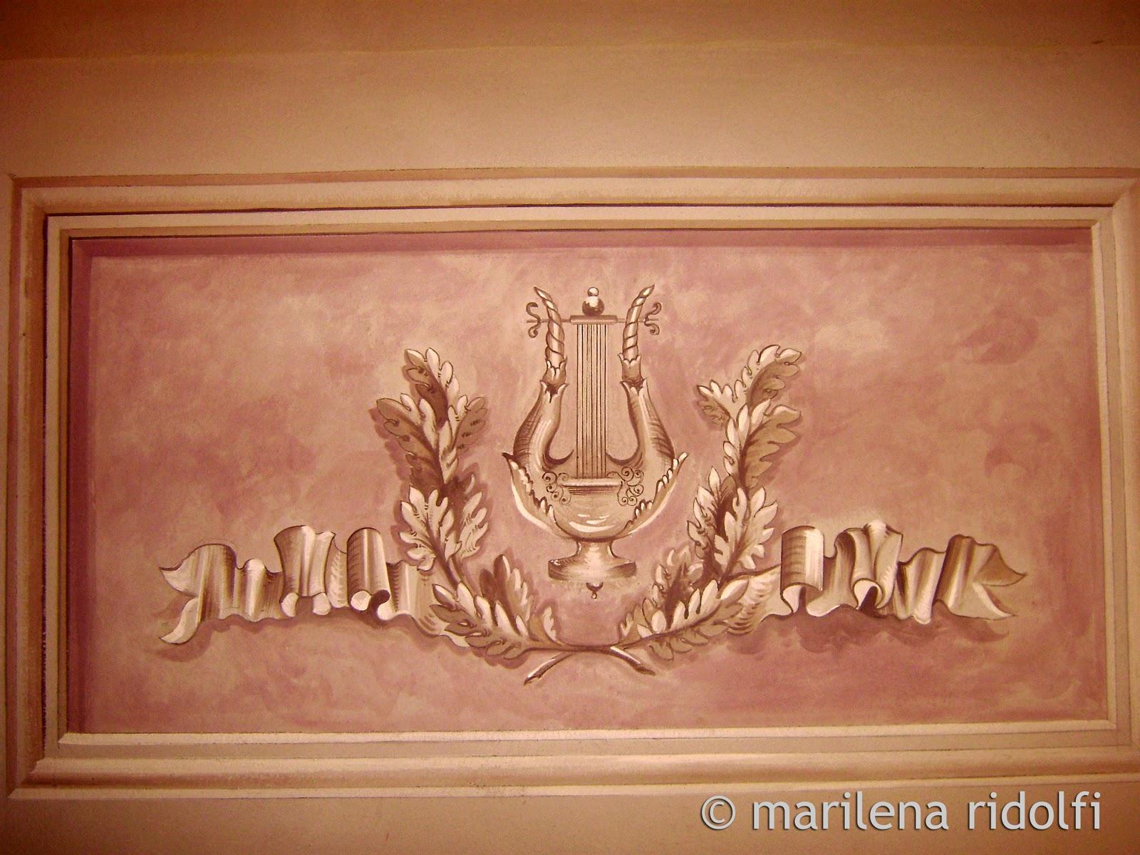 Decorazioni e restauro decorazioni murali - Decorazioni in legno per mobili ...