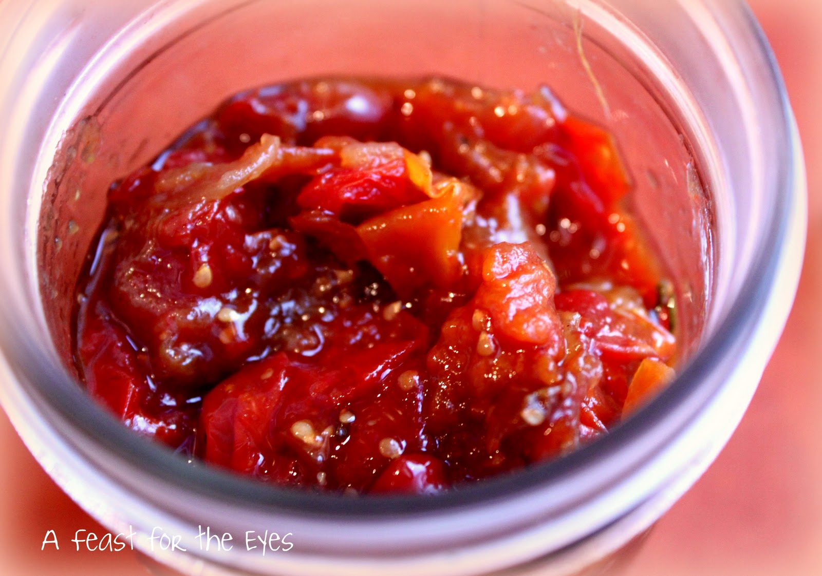 Feast for the Eyes: Savory Tomato Jam