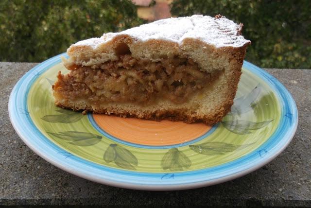 torta di mele (simil persegani)