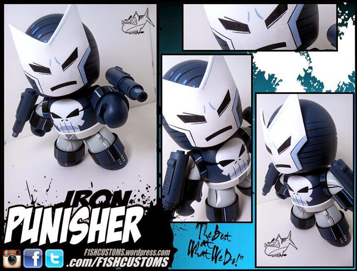 Iron Punisher Mighty Muggs Customs