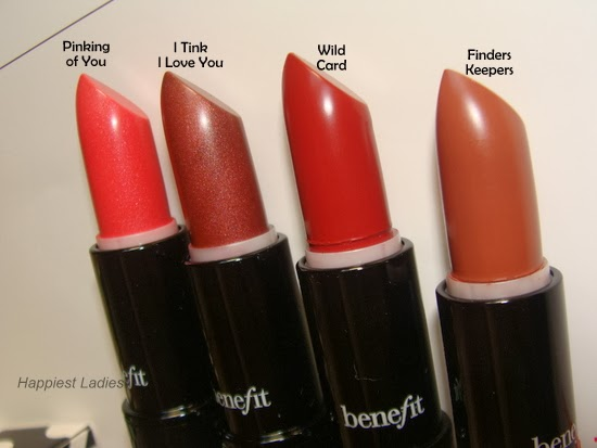 Benefit Full Finish Lipsticks