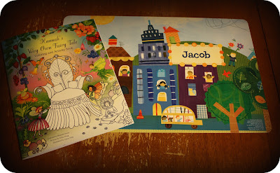 So For This Review I Was Sent A Cars And Vehicles Personalized Placemat As Well My Very Own Fairy Tale Coloring Book