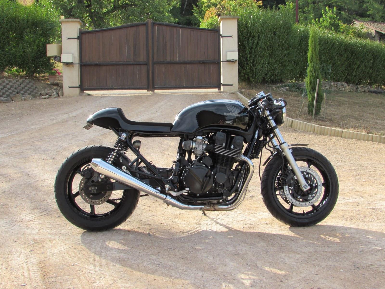 jrf customs moto black cafe racer cb 750 seven fifty. Black Bedroom Furniture Sets. Home Design Ideas