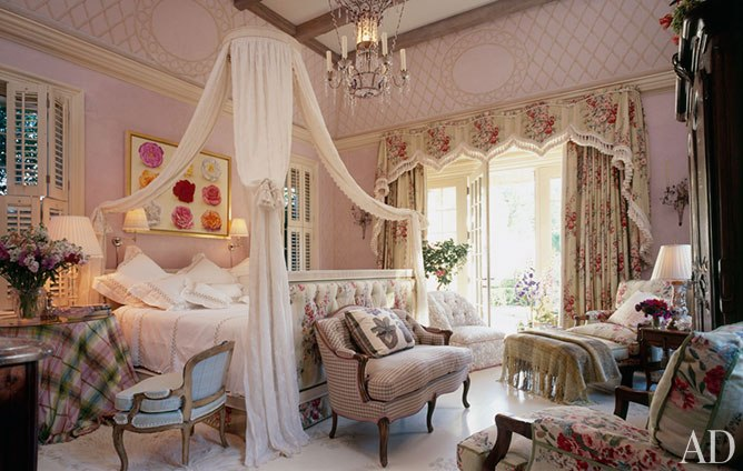 Eye For Design Romantic Chintz Interiors The Mario