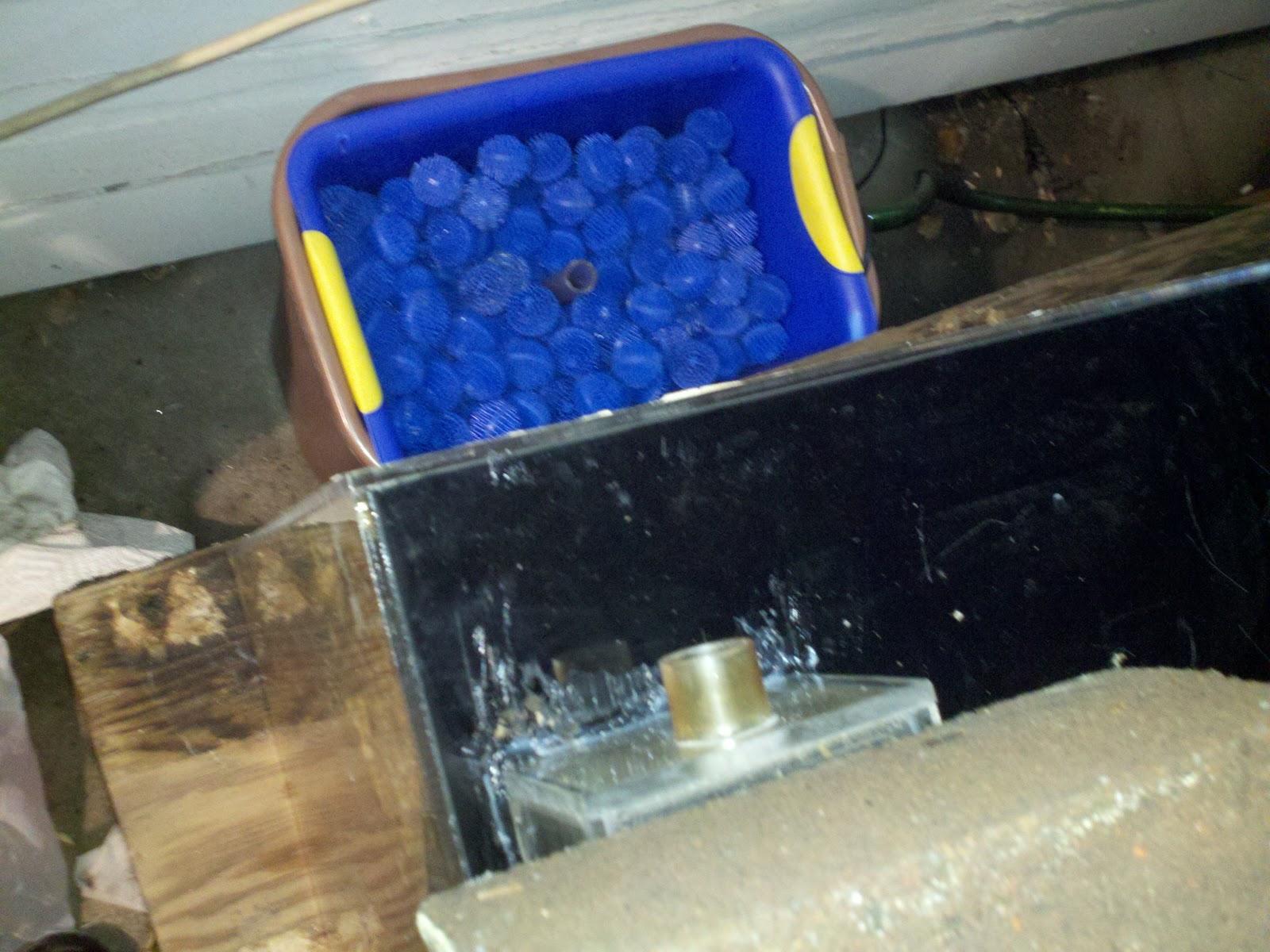Diy aquarium wet dry filter existing turtle aquarium for Diy bio balls
