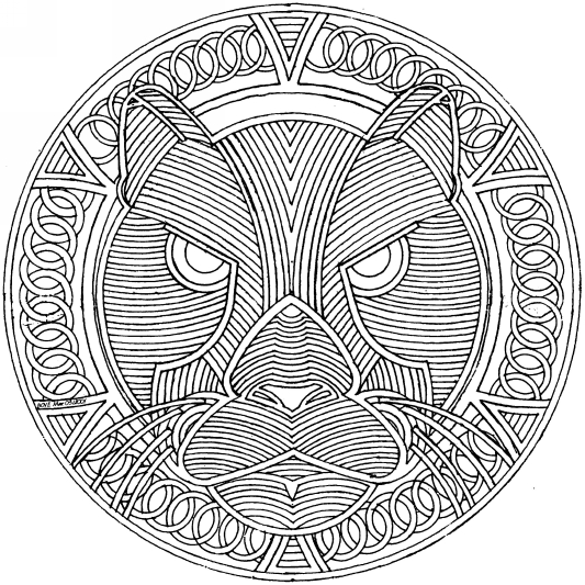 relaxing mandala coloring pages tangled