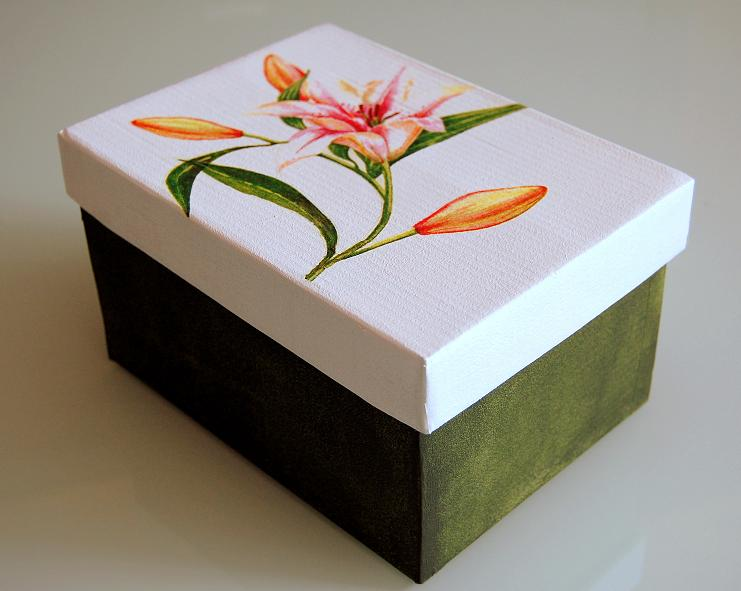 Cajas de carton decoradas en foami imagui - Manualidades cajas decoradas ...