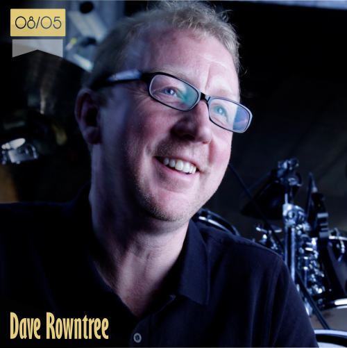 8 de mayo | Dave Rowntree - @DaveRowntree | Info + vídeos