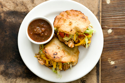 chicken gorditas