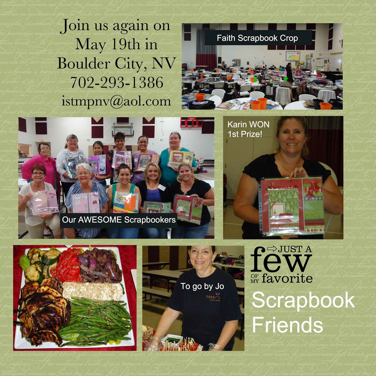 Scrapbook ideas las vegas - This Was A Fun Page I Created At The Faith Scrapbook Crop