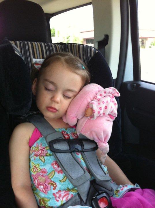 Toddler Head Slump Car Seat