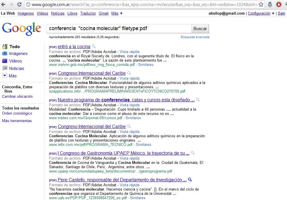 A l tic abril 2011 for Gastronomia molecular pdf