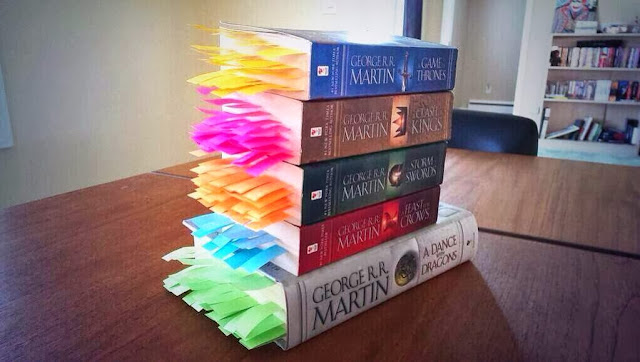 All The Deaths in Game of Thrones Bookmarked