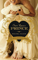 cover of Once Upon a Prince by Rachel Hauck shows a smiling bride sitting