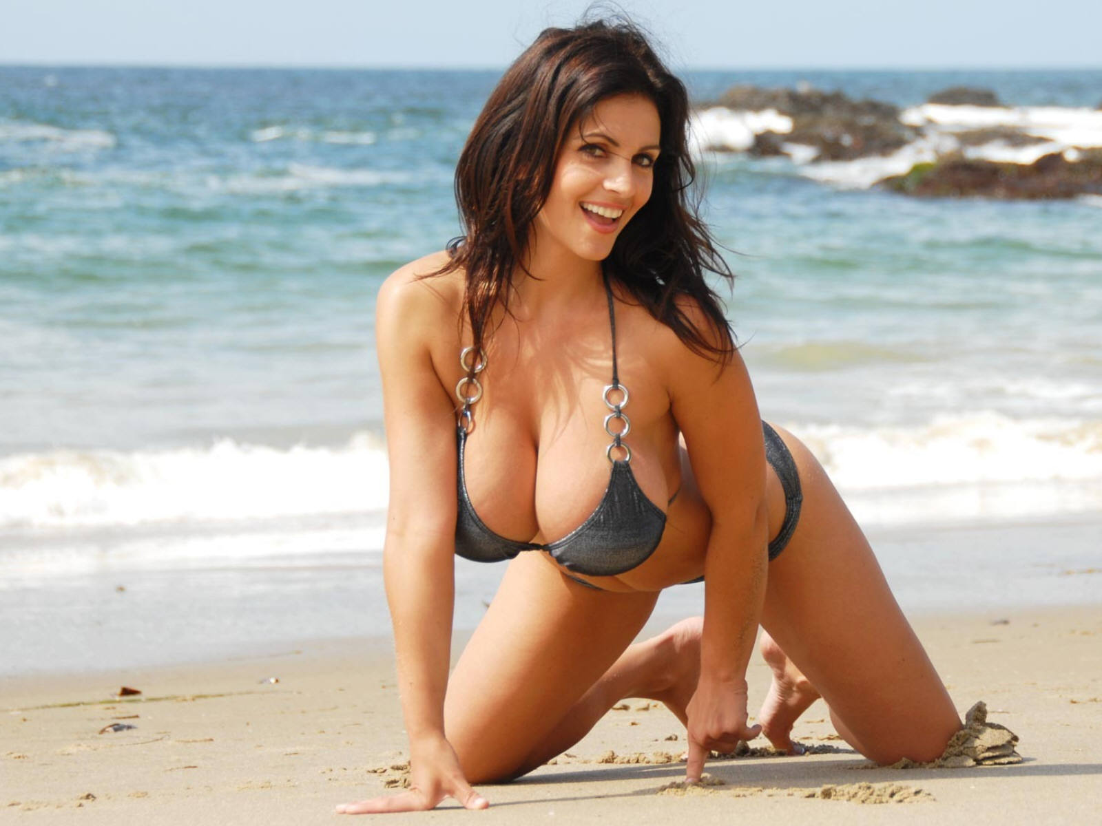 Consider, Denise milani hot bikini remarkable