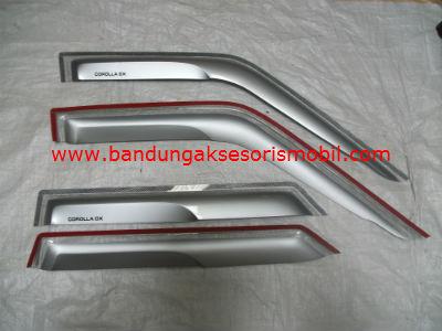 Talang Air Corolla DX Silver Mugen Depan Belakang