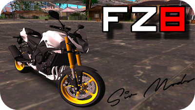 GTA SA Yamaha FZ8 Download