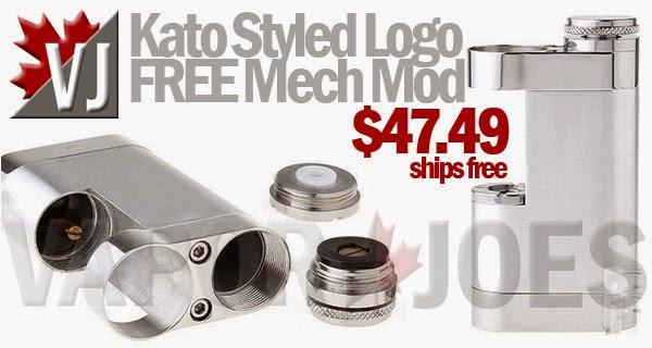 Kato Styled Logo-FREE 18650 Mechanical Mod