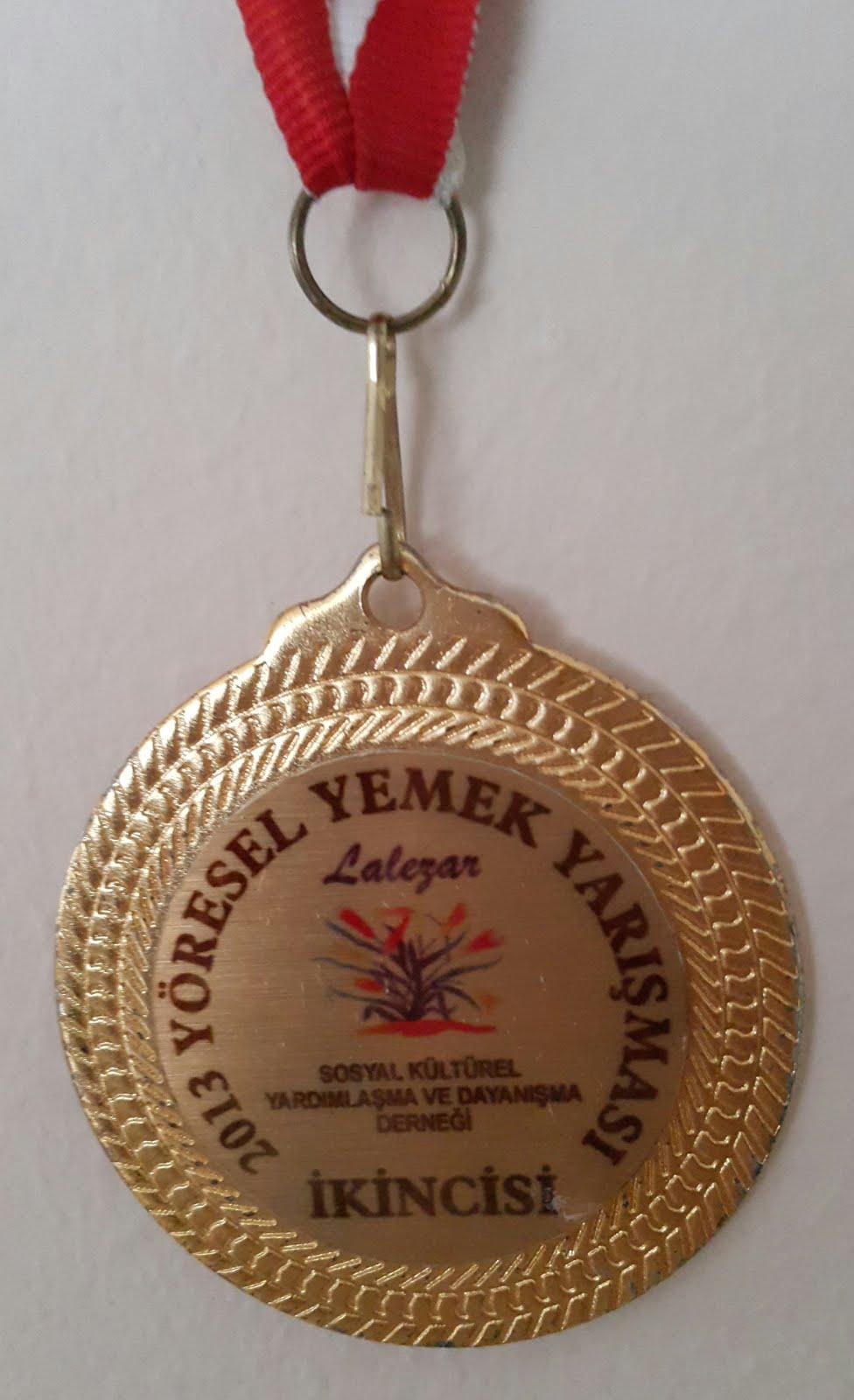 2013 YÖRESEL YEMEKLER SALATA YARIŞMASI ÖDÜLÜM