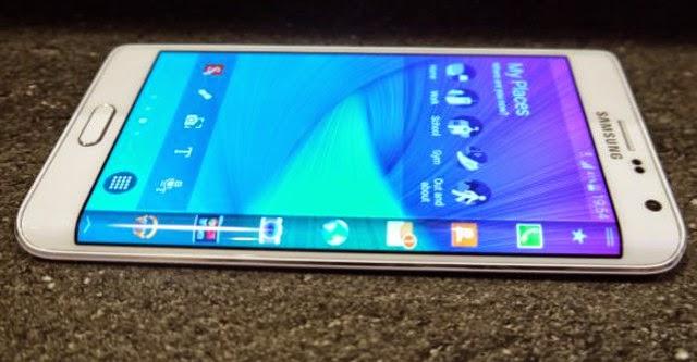 Samsung Galaxy Note Edge chính thức lên kệ tại Hàn Quốc