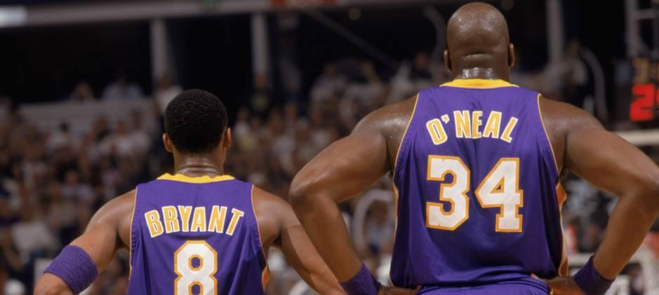 Kobe Bryant - Kobe and Shaq - HoopsVilla
