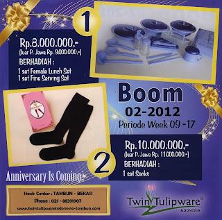 BOOM Tulipware | Maret - April 2012