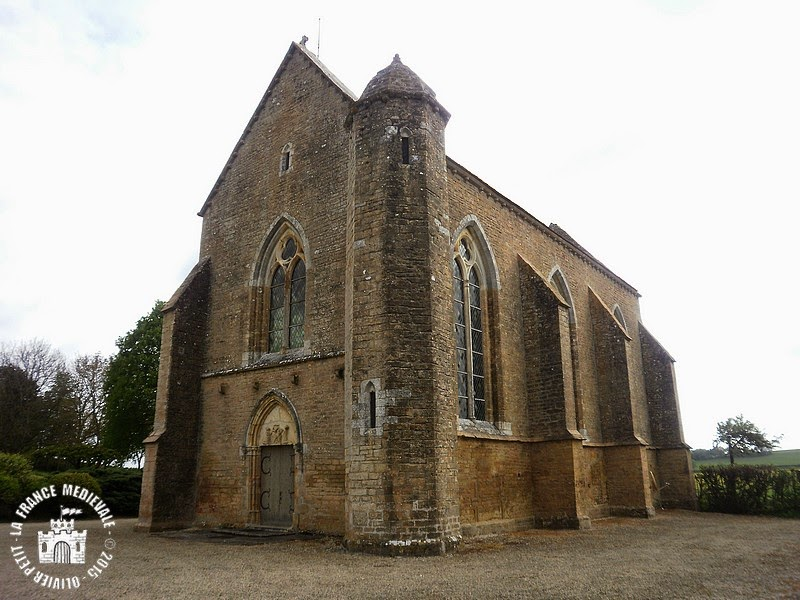 ISLAND (89) - Chapelle templière du Saulce d'Island