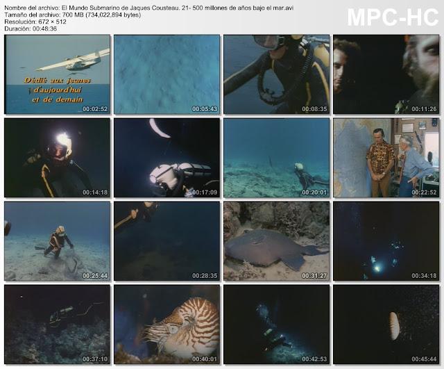 |36DVDRip|24GB|El Mundo Submarino de Jaques Costeau|MEGA|