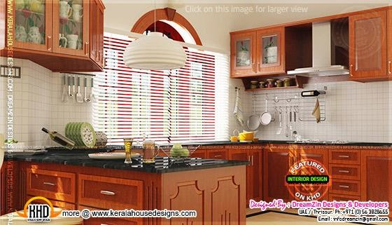 Traditional mix modern kitchen