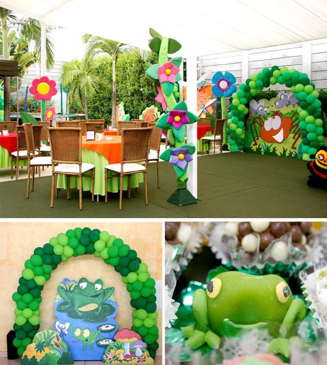 festa no jardim infantil : festa no jardim infantil:Baby Guide Festa Infantil: Festa no Jardim por Xic Balloon