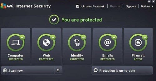 AVG AntiVirus Free 2015 screenshot