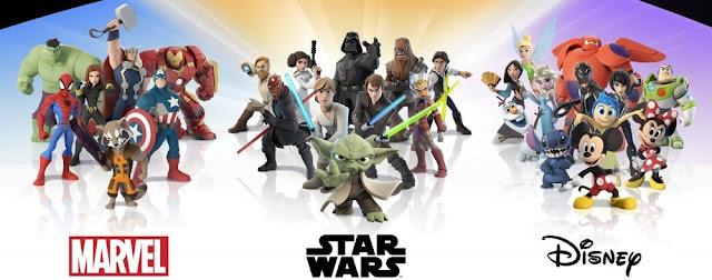 Postacie z gry Disney Infinity 3.0 tj. Disney, Marvel i Star Wars