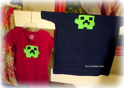 Lav din egen minecraft t-shirt