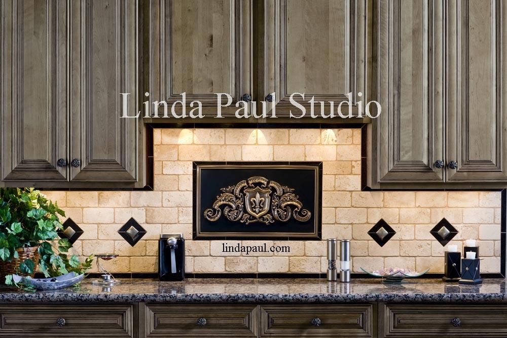 Add An Artistic Splash To Your Backsplash   New Ideas From Linda Paul Studio