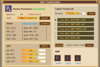 Serenia Fantasy Spirit Transformation