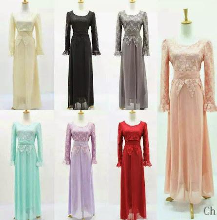 Pelbagai Jenis Dress Chiffon Full Lining Yang Sangat Menawan Boleh Anda Pilih.