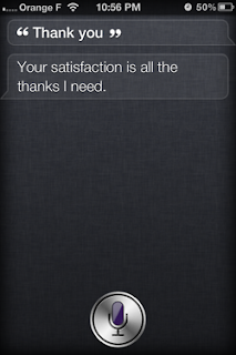 Siri: Thank you.