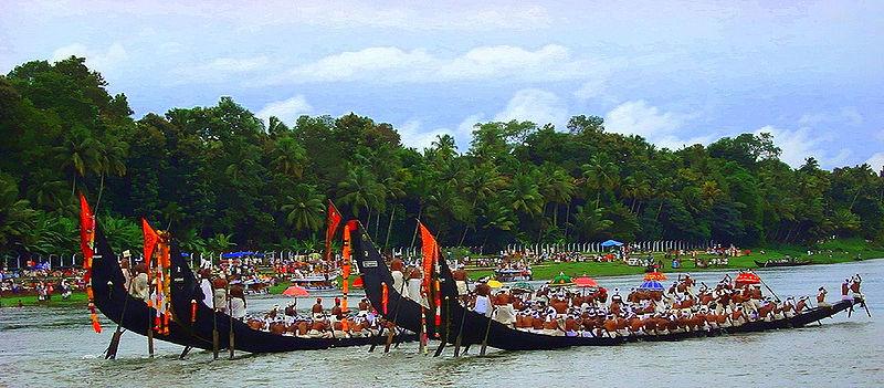 Boat Race In Alappuzha, Kerala