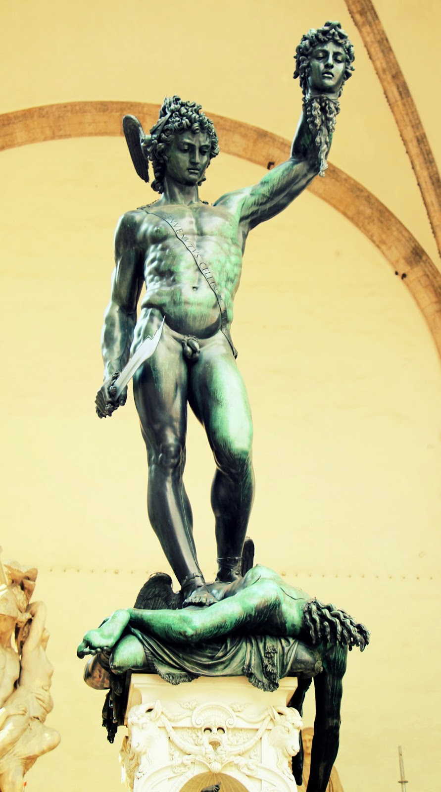 Statue of Perseus, Florence, Italy