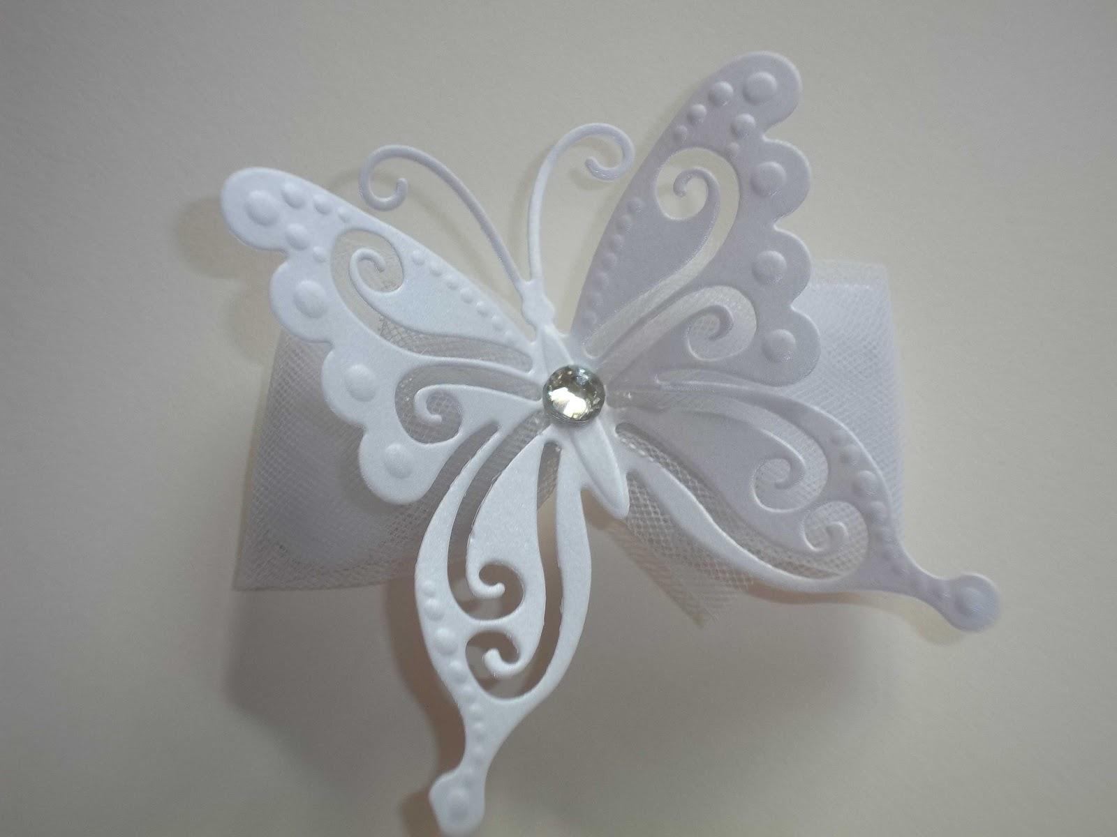 Molto Sara Crea: Segnaposto farfalla, portaconfetti farfalla per  YG44