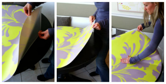 Awesome And The Table Top Decals Are Very Easy To Apply!