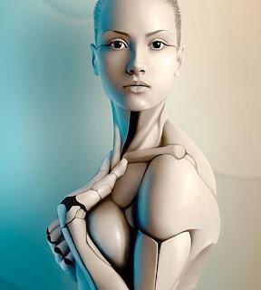 sexy beaty woman robots