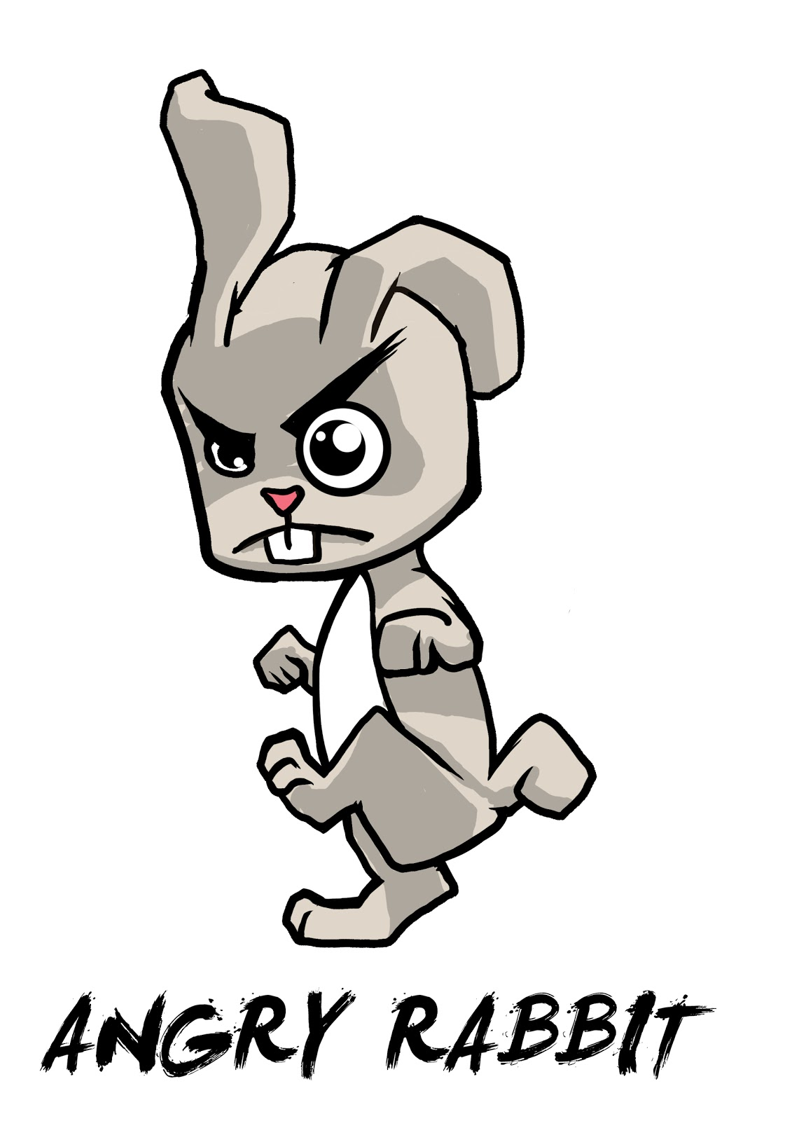 Love Angry Rabbit